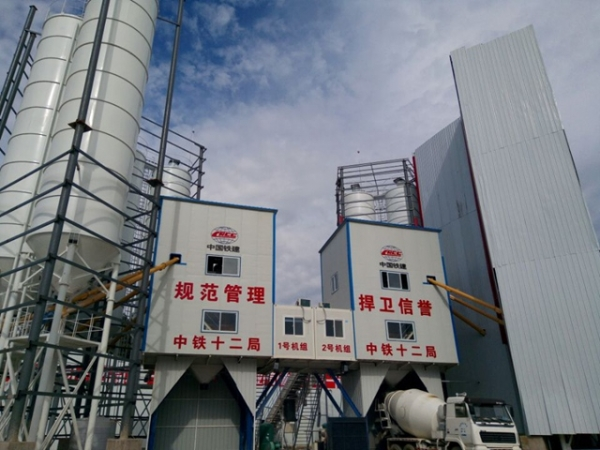 云南拌合站工程案例