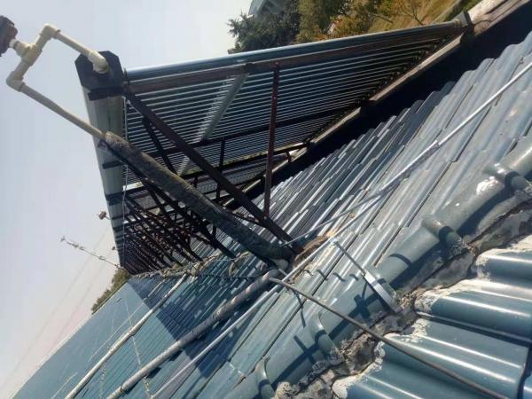 孝感市95829部队73分队库房避雷带安装工程